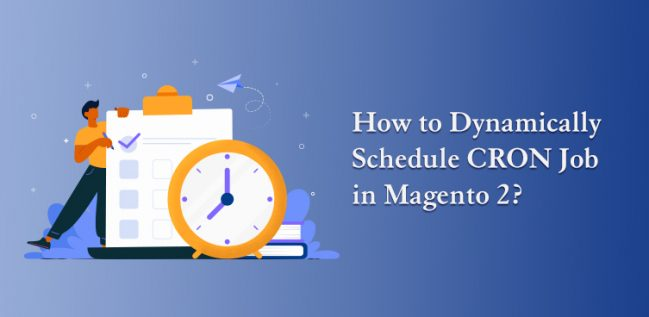 How to Dynamically Schedule CRON Job in Magento 2