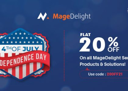 MageDelight Magento 2 Extensions Offers Independence Sale